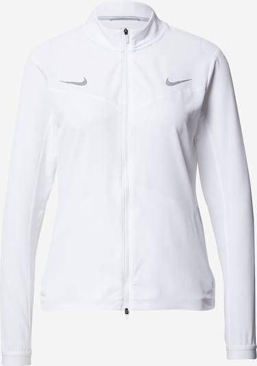 NIKE Veste de sport en blanc, Vue avec produit