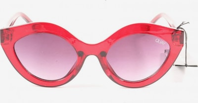 QUAY Butterfly Brille in One Size in rot, Produktansicht