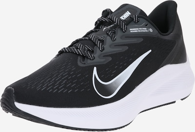 NIKE Laufschuh 'Nike Air Zoom Winflo 7' in schwarz / weiß, Produktansicht