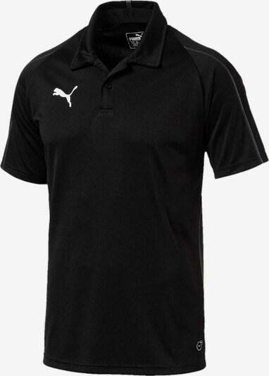 PUMA Poloshirt in schwarz, Produktansicht