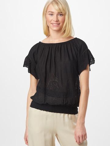 PATRIZIA PEPE Blouse 'CAMICIA' in Black