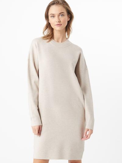 VILA Kootud kleit helebeež, Modellivaade