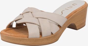 UNISA Pantolette 'Ibros' in Beige