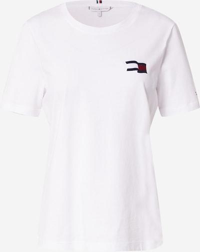 TOMMY HILFIGER T-Shirt in navy / rot / weiß, Produktansicht