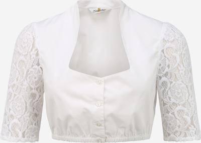 Bluză tradițională (Oktoberfest) ALMSACH pe alb, Vizualizare produs