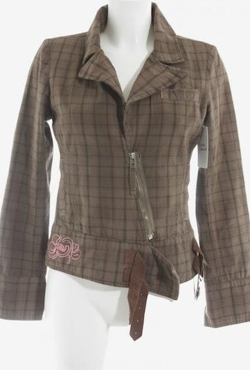 Gsus Sindustries Jacket & Coat in S in Brown / Pink, Item view