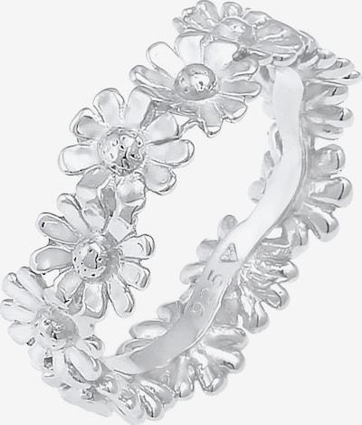 ELLI Δαχτυλίδι 'Blume' σε ασημί, Άποψη προϊόντος
