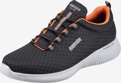 RIEKER Sneakers in Orange / Black, Item view