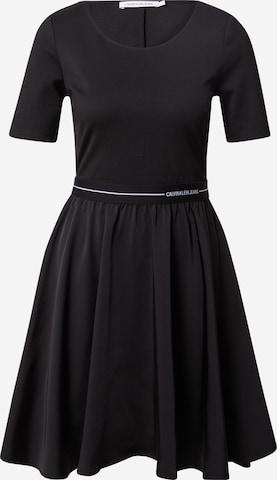 Calvin Klein Jeans Kleit, värv must