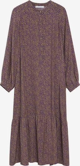 VIOLETA by Mango Košulja haljina 'Wilson' u zlatno žuta / pastelno ljubičasta, Pregled proizvoda