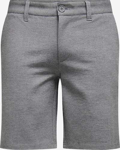 Only & Sons Chino nohavice 'Mark' - sivá melírovaná, Produkt