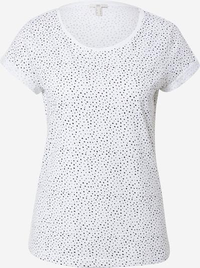 EDC BY ESPRIT Тениска в нощно синьо / бяло, Преглед на продукта