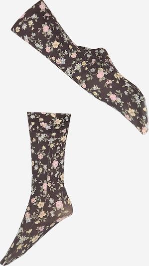 Calzino 'Ada' Swedish Stockings di colore blu chiaro / giallo pastello / verde chiaro / rosa chiaro / nero, Visualizzazione prodotti
