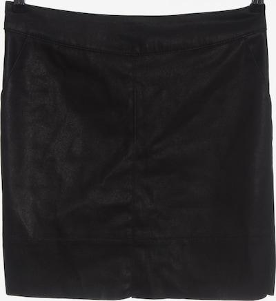 ONLY Kunstlederrock in M in schwarz, Produktansicht