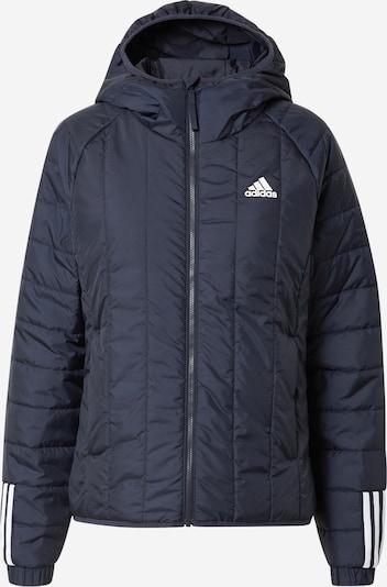 ADIDAS PERFORMANCE Outdoor jakna 'ITAVIC' u tamno plava / bijela, Pregled proizvoda