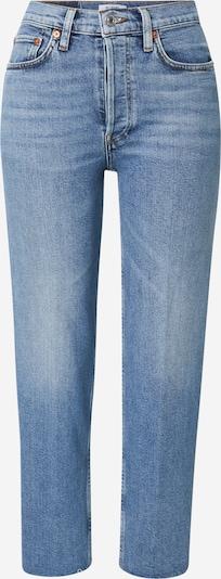 RE/DONE Jeans in de kleur Blauw denim, Productweergave