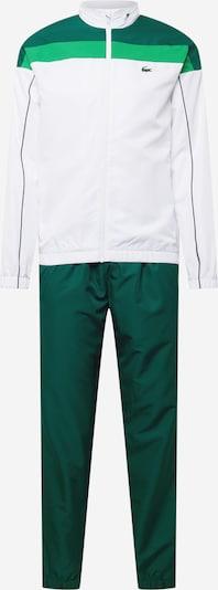 Costum de trening Lacoste Sport pe verde / verde limetă / alb, Vizualizare produs