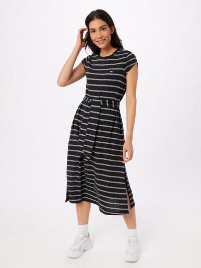 Tommy Jeans Kleid in schwarz / weiß, Modelansicht