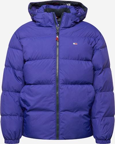 Tommy Jeans Veste d'hiver en indigo, Vue avec produit