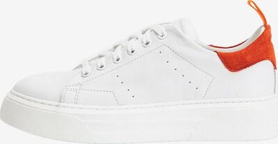 INUOVO Sneaker in orangerot / weiß, Produktansicht