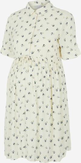 Pieces Maternity Kleid 'Thea' in rauchblau / dunkelblau / grasgrün / weiß, Produktansicht