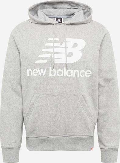 Felpa new balance di colore grigio sfumato / bianco, Visualizzazione prodotti