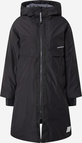 Didriksons Outdoor Coat 'Aino' in Black