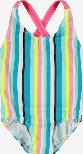 NAME IT Badpak 'Zamara' in de kleur Lichtblauw / Koraal / Lichtroze / Wit, Productweergave