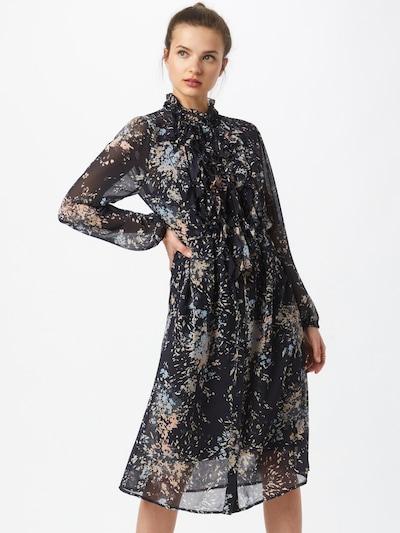 SAINT TROPEZ Kleid in nachtblau / mischfarben, Modelansicht