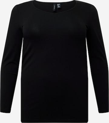 Vero Moda Curve Shirt 'PAXI' in Black