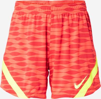 NIKE Sporta bikses 'Strike', krāsa - dzeltens / gaiši oranžs / tumši oranžs, Preces skats