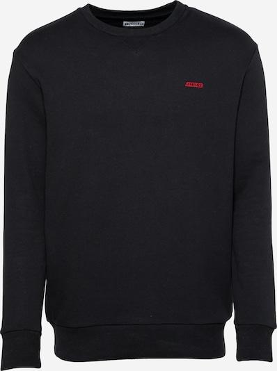 Brosbi Sweat-shirt 'THE AMORE' en rouge / noir, Vue avec produit