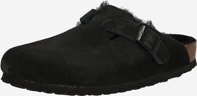 BIRKENSTOCK Mājas apavi 'Boston', krāsa - melns, Preces skats
