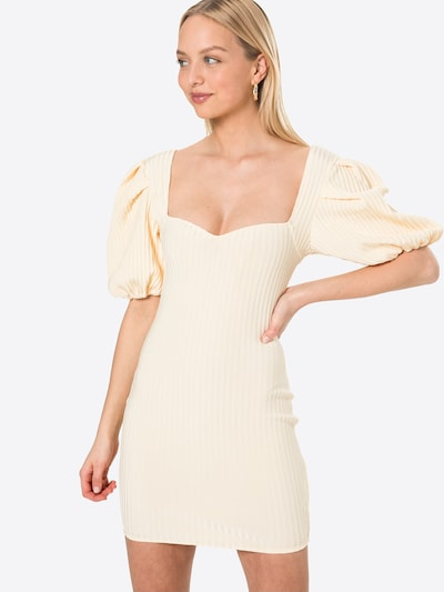 Missguided Kleid in creme, Modelansicht