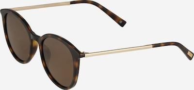 LE SPECS Solbriller 'Le Danzing' i brun / mørkebrun / guld, Produktvisning