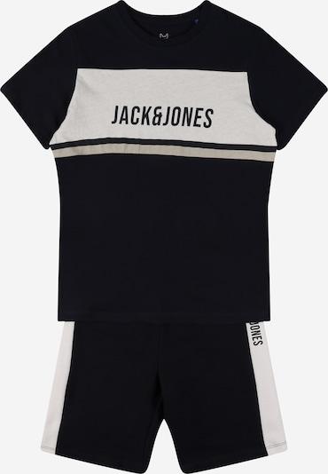Jack & Jones Junior Survêtement en bleu nuit / greige / blanc, Vue avec produit