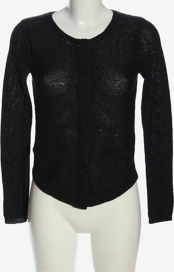 SAND COPENHAGEN Strick Cardigan in XXS in schwarz / silber, Produktansicht