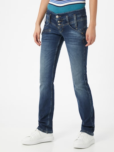 FREEMAN T. PORTER Jeans 'Amelie' in blue denim, Modelansicht