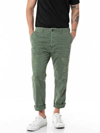 REPLAY Jeans in grasgrün, Modelansicht