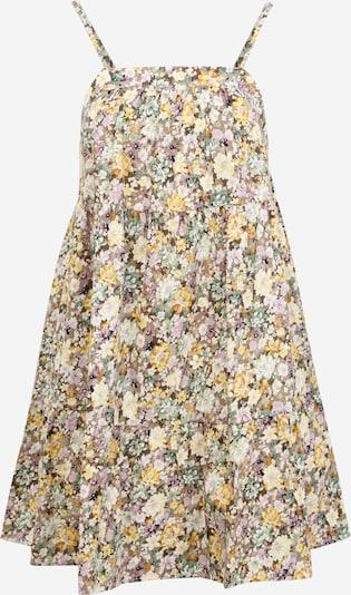 OBJECT Petite Kleid 'JASIA' in beige / gelb / pastellgrün / pink / weiß, Produktansicht