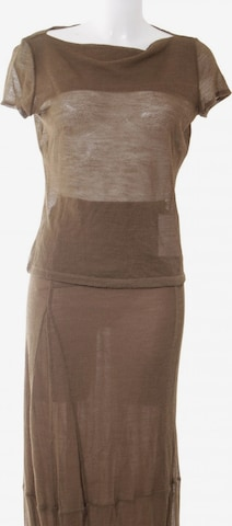 Philosophy di Alberta Ferretti Skirt in XXL in Brown