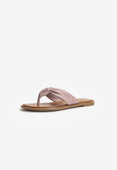 INUOVO Sandale in flieder / helllila, Produktansicht