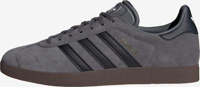 ADIDAS ORIGINALS Sneaker 'Gazelle' in braun / grau / schwarz, Produktansicht