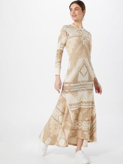 POLO RALPH LAUREN Kleid in beige / taubenblau, Modelansicht