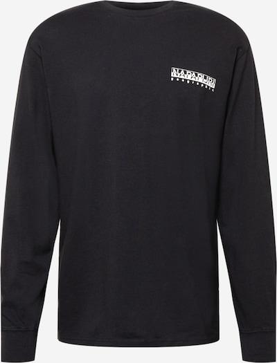 NAPAPIJRI Μπλουζάκι 'SARETINE' σε μαύρο / λευκό, Άποψη προϊόντος