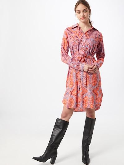 Zwillingsherz Robe-chemise 'Helen' en mélange de couleurs, Vue avec modèle