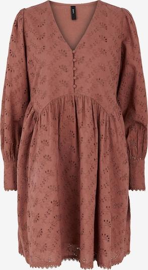 Y.A.S Kleid 'Sinni' in rostbraun, Produktansicht