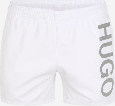 Maudymosi trumpikės 'ABAS' iš HUGO , spalva - pilka / natūrali balta: Vaizdas iš priekio