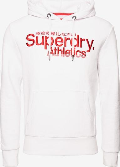 Superdry Sweatshirt in de kleur Rood / Wit, Productweergave