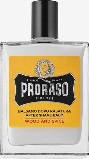 Proraso Balsam 'Wood & Spice' in gelb / schwarz / transparent / weiß, Produktansicht